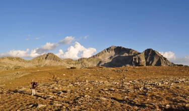 Планински преход заслон Тевно езеро - хижа Синаница